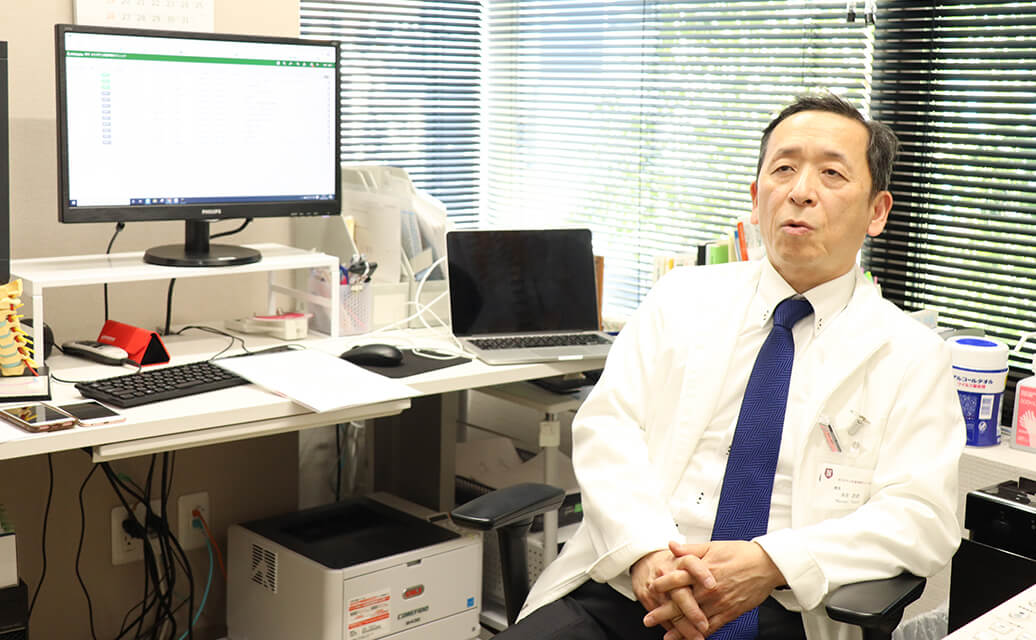 医院相続・承継インタビュー高見先生画像