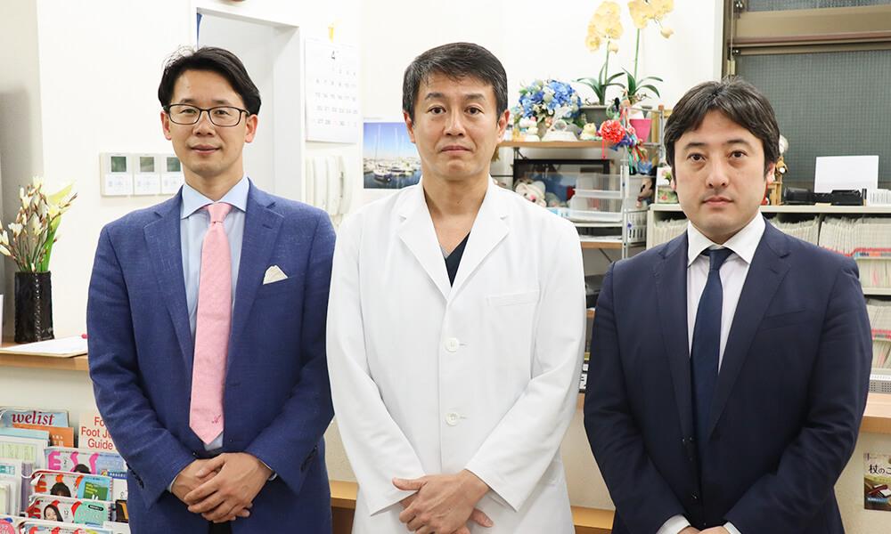 医療法人司絆生 吉田先生との集合写真